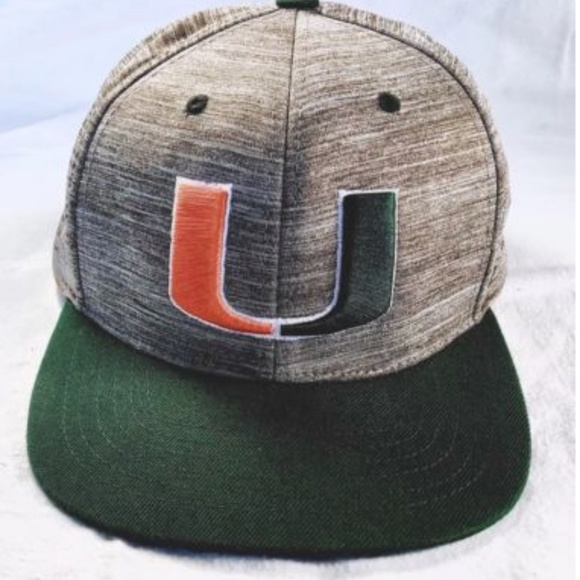 official photos 42433 284d2 University of Miami Hurricanes Snapback